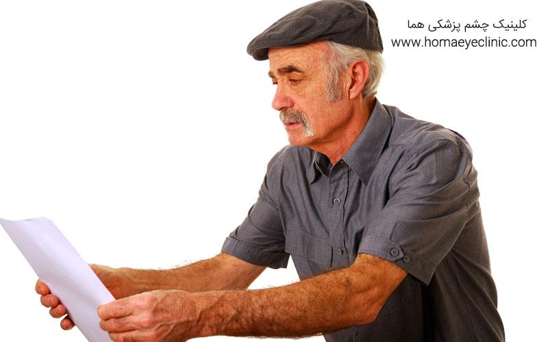 انواع جراحی و لیزر برای درمان پیرچشمی
