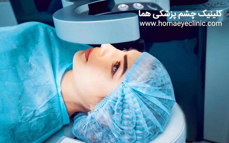 انواع جراحی عیوب انکساری ( لیزیک ، لازک ، اپی لازک ، PRK )