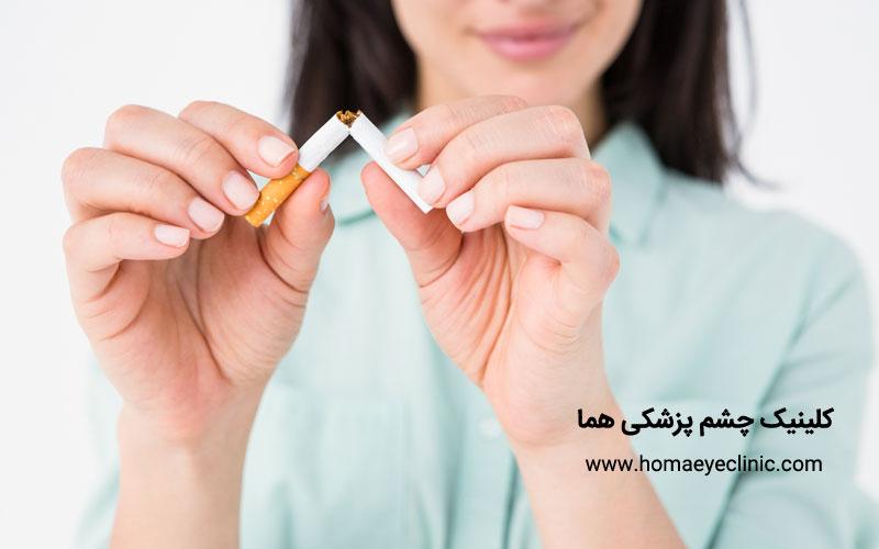 اثرات فشار خون و سیگار بر روی چشم