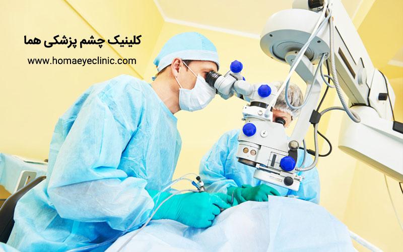 نحوه پذیرش خدمات بستری بیمه شدگان جهت جراحی های چشمی